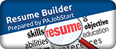 PA Job Start Resume Builder